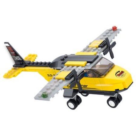 Sluban Bouwstenen Aviation Serie Oefenvliegtuig