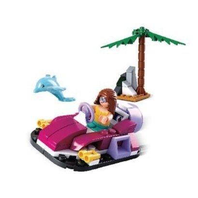 Sluban Bouwstenen Girls Dream Serie Hovercraft
