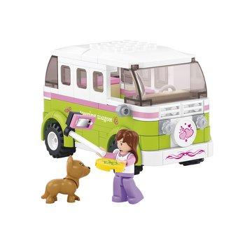 Sluban Bouwstenen Girls Dream Serie Camper