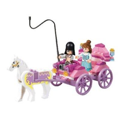 Sluban Bouwstenen Girls Dream Serie Prinsessenkoets