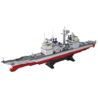 Sluban Bouwstenen Aircraft Carrier Serie Cruiser