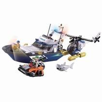 Bouwstenen Police Serie Police Boat