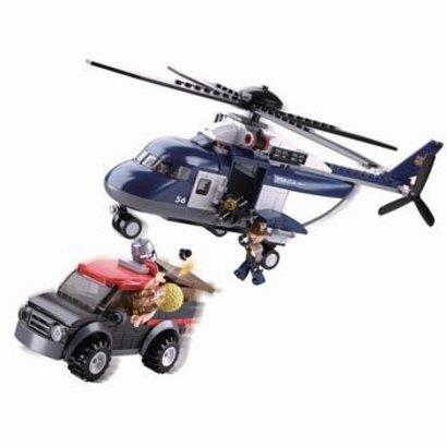 Sluban Bouwstenen Police Serie Grote Politiehelikopter