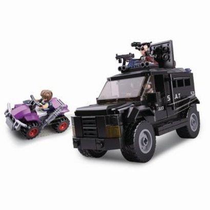Sluban Bouwstenen Police Serie Swat Truck