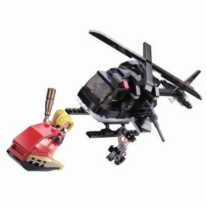 Sluban Bouwstenen Police Serie Me-Helikopter