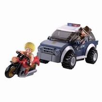 Bouwstenen Police Serie Jeep
