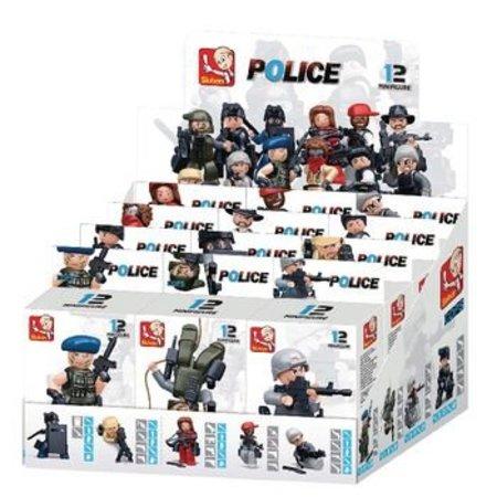 Sluban Bouwstenen Police Serie Minifiguur