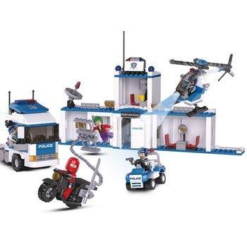 Sluban Bouwstenen Police Serie Vrachtwagen
