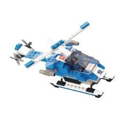Sluban Bausteine Police Serie Polizei Hubschrauber