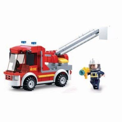 Sluban Bouwstenen Fire Serie Small Firetruck