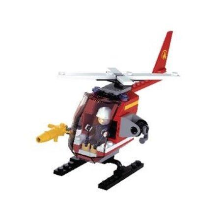 Sluban Bouwstenen Fire Serie Helikopter