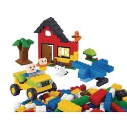 Sluban Bausteine Kiddy Bricks Serie Grundbausteine 415 Stück Mädchen
