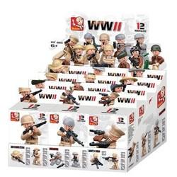 Sluban Bouwstenen WWII Serie Minifiguur