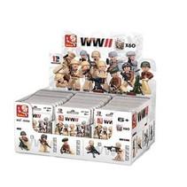 Bricks WWII Series Mini Figure