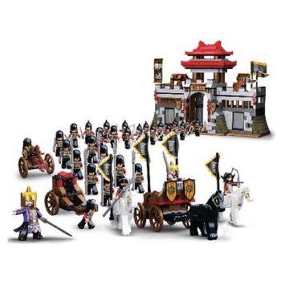 Sluban Bouwstenen 3 Kingdoms Serie Kasteel en Ridders
