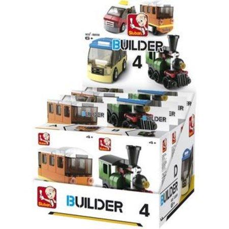 Sluban Bouwstenen Builder Transportation