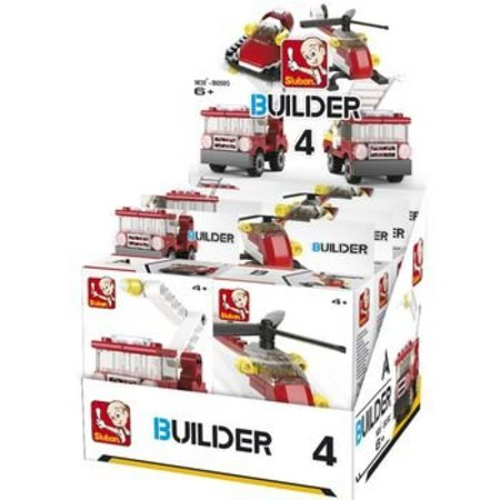Sluban Bouwstenen Builder Fire