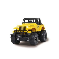 Jamara R/C Jeep Wrangler Rubicon 1:18 Geel