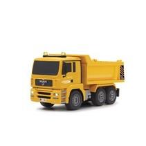 R / C Dump Truck MAN 3 + 4-Channel RTR / Sound / Met Illumination / 4WD 2.4 GHz Control Yellow 1:20