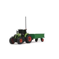 Jamara Funkgesteuerte Tractor CLAAS Axion 850 met Aanhanger RTR 1:28 Grün