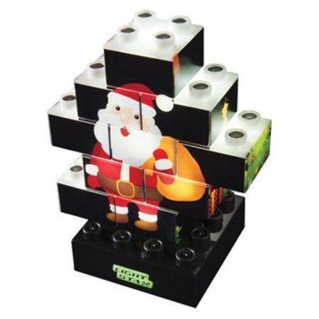 Light Stax 4-in-1 Puzzel Puzzel Multicolour