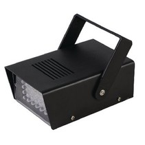 LED-Blitzlicht Atmosphärische Lampe 24 LED-Disco-Lampe