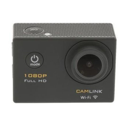 Camlink Full HD Action Cam 1080p Wi-Fi Zwart