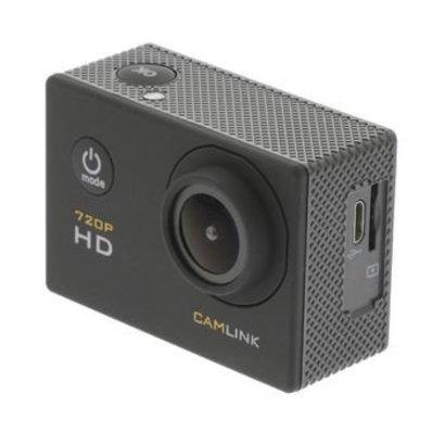 Camlink HD Action Cam 720p Zwart
