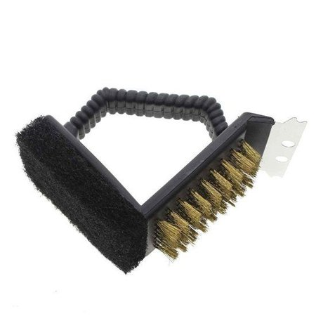 Geeek BBQ Cleaning Brush 3-in-1 - Barbecue Grill Cleaning