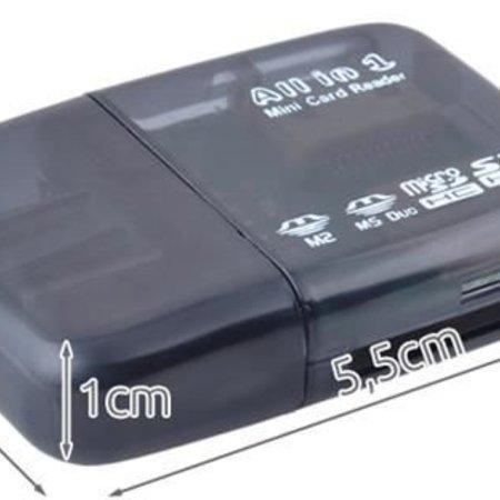Geeek Mini USB Kartenleser All In One Kartenleser für Micro SD & SD