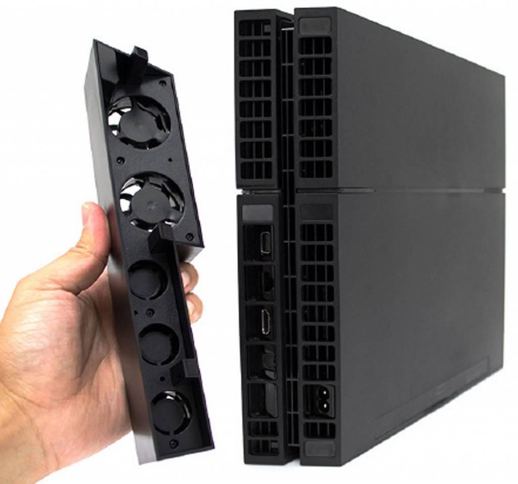 Dankzij de koeler fan voor de ps4 raakt je console nooit meer oververhit en blijft er een toevoer van ...