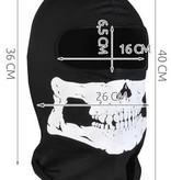 Geeek Balaclava Ski Hat Skull - Hat with skull print