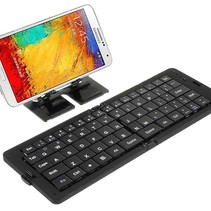 Faltbare Bluetooth Tastatur für Smartphones und Tablet