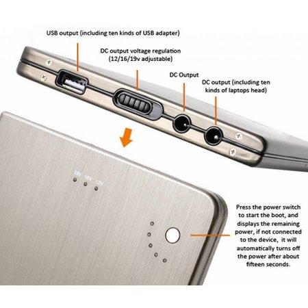Geeek Mega Laptop Power Bank MP-20000