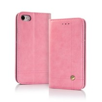 Smart Prestige Wallet Case voor iPhone X / XS Roze