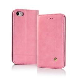 Geeek Smart Prestige Wallet Case voor iPhone X / XS Roze