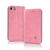 Smart Prestige Wallet Case voor iPhone 7 / 8 Roze