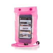 "Universal Waterproof Case 5.5 "" Pink"