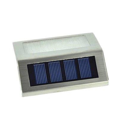 Geeek Solar LED- Außenbeleuchtung aus Edelstahl