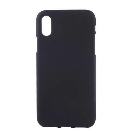 Geeek Mattschwarz Silikon TPU Case iPhone Xr