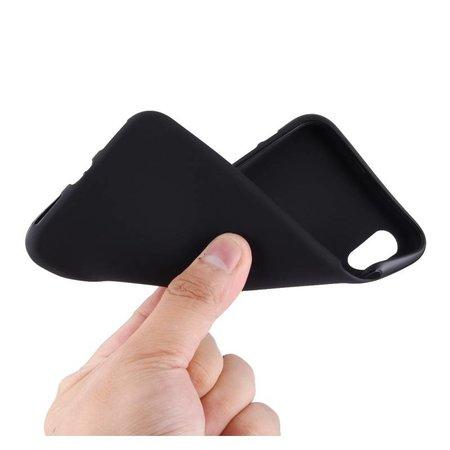 Geeek Mat Zwart Siliconen TPU Hoesje iPhone Xr