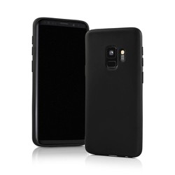 Geeek Matte Black Silicone TPU Case Samsung Galaxy S9 Plus