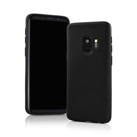 Geeek Mat Zwart Siliconen TPU Hoesje Samsung Galaxy S9 Plus