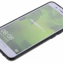 Mat Zwart Siliconen TPU Hoesje Huawei P10