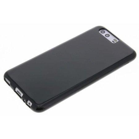 Geeek Mat Zwart Siliconen TPU Hoesje Huawei P10