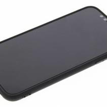 Mattschwarz Silikon TPU Case iPhone X / Xs