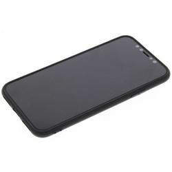Geeek Mattschwarz Silikon TPU Case iPhone X / Xs