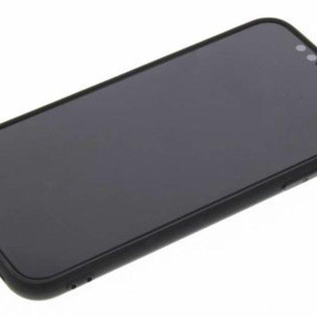 Geeek Mat Zwart Siliconen TPU Hoesje iPhone X / Xs