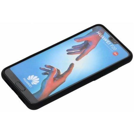 Geeek Mat Zwart Siliconen TPU Hoesje Huawei P20