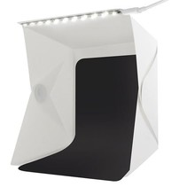 Foldable Photo Studio Photo Tent with LED Lighting